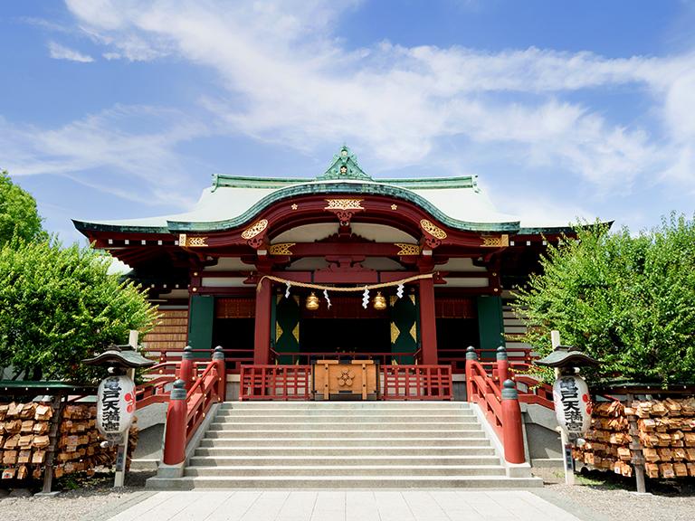 ศาลเจ้าคาเมโดะ เทนจิน (Kameido Tenjin Shrine)