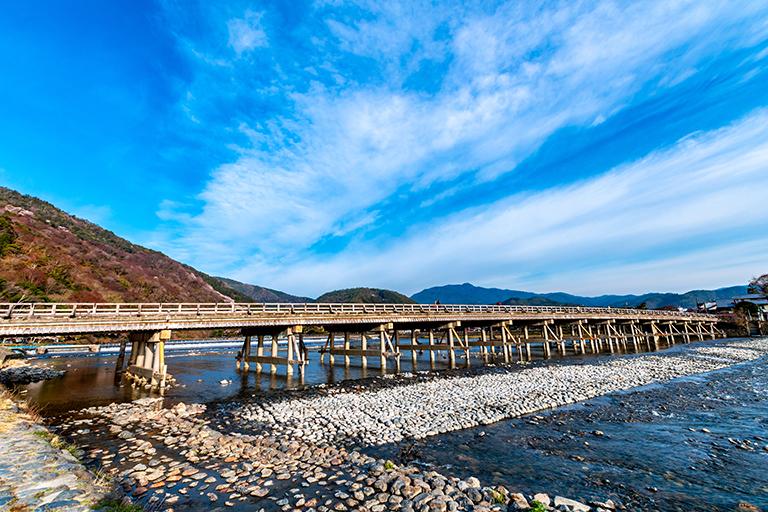 สะพานโทเง็ตสึเคียว (Togetsukyo Bridge)