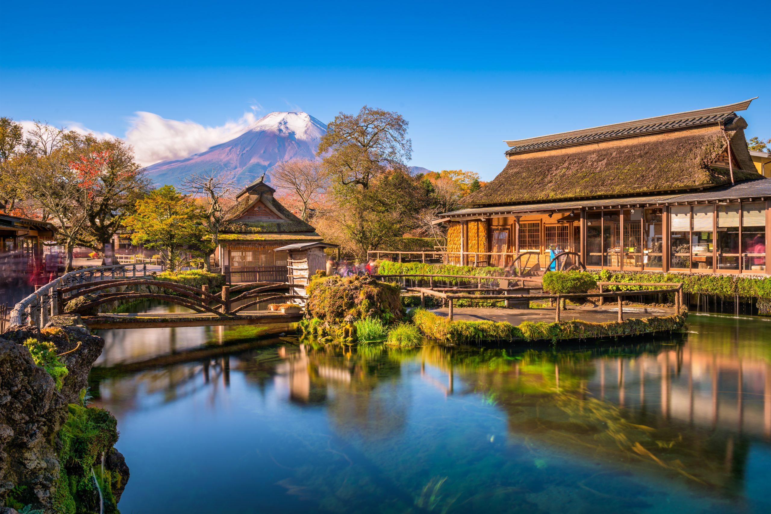 หมู่บ้านน้ำใส โอชิโนะฮักไก (Oshino Hakkai) – IncentiveJapan.com
